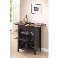 Leo Wenge Finish Wine Rack