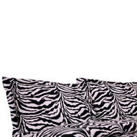 Elite Home Products fashion. ELITEHPH-BE-300DSTW069REGL T300 Regal Printed Zebra Duvet Set- Black and White, Elite Home Products Style, Elite Home Products Luxury Savings ELITEHPH-BE-300DSTW069REGL