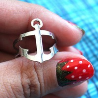 ANCHOR adjustable ring ( free shipping)