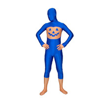 Blue Pumpkin Lycra Spandex Fullbody Fancy Dress for Halloween Zentai Suit [TOQ1112270461] - 22.59 : Zentai, Sexy Lingerie, Zentai Suit, Chemise