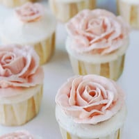 Whisk Kid: Babble - {Grapefruit Cupcakes with Honeyed Italian Meringue Buttercream}