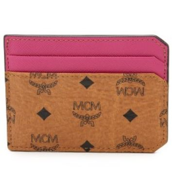 MCM Colorblocked Card Case
