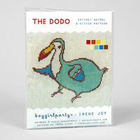 buyolympia.com: Susie Ghahremani - The Dodo X-Stitch Pattern Kit