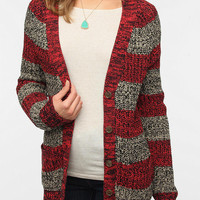 BDG Striped Shaker Stitch Cardigan