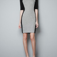 TUBE DRESS WITH DIAMANTE COLLAR - Dresses - Woman - ZARA United States