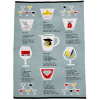 Browsing Store - Bar Recipe Dishtowel