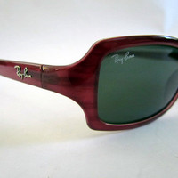 Vintage Ray Ban sunglasses model 2130 like new in soft by clcort