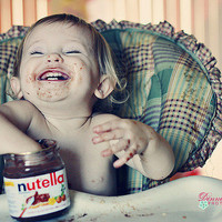 baby, child, chocolate, cute, fofo - inspiring picture on Favim.com