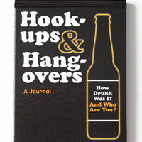 Hookups and Hangovers: A Journal - $10.00: ThreadSence, Women&#x27;s Indie &amp; Bohemian Clothing, Dresses, &amp; Accessories