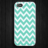 iPhone 5 case,Tiffany Blue Chevron iphone 5 case,iphone 5 hard case,iphone case