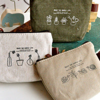 Enjoy the Simple Life Pouch