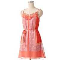 LC Lauren Conrad Handkerchief Chiffon Dress