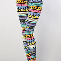 The Abstract Art Leggings