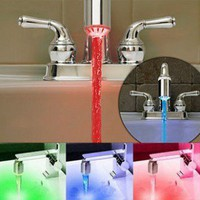 Water-Activated LED Neon Tap