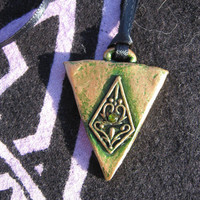 Ancient Triangle Necklace