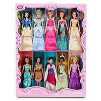 Classic Disney Princess Doll Collection -- 12'' H -- 10-Pc. | Disney Store
