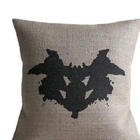 Rorschach Ink Blot Cushion
