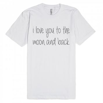 I Love You To The Moon Back