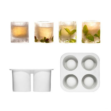 Icy Shot Glass Mold - Set of 3