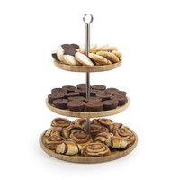 3-Tier Bamboo Dogpatch Serving Tray