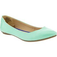 Women&#x27;s Pointed Faux-Leather Flats | Old Navy