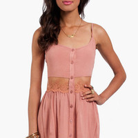 Daydreamin&#x27; Gauzy Tank Dress $54