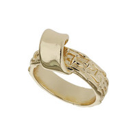 Freedom Found Twisted Ring - Gold