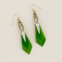 Women's new arrivals - jewelry - Lulu Frost for J.Crew resin and crystal appliqué earrings - J.Crew