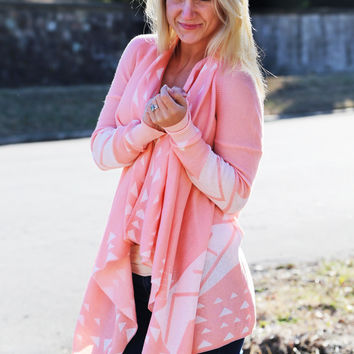 Light Strawberry Cardigan