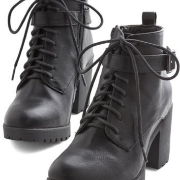 ModCloth Menswear Inspired Standout Steps Bootie