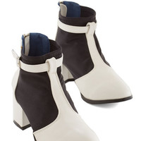Kling Colorblocking A Glorious Day Trip Bootie