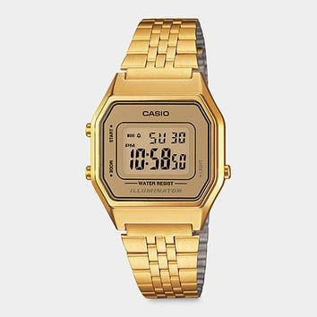 Casio Digital Watch Gold | MoMA