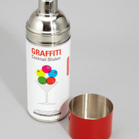 Graffiti Cocktail Shaker | fredflare.com