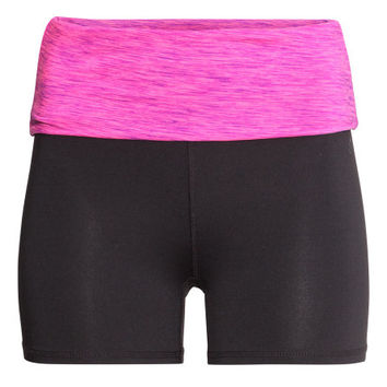 Short Yoga Tights - from H&M