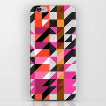 Mix #601 iPhone & iPod Skin by Ornaart