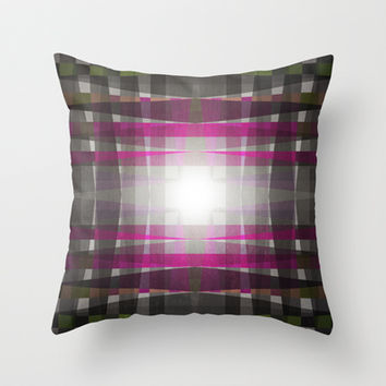 Rug II Throw Pillow by SensualPatterns