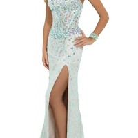 Artie 2015 Sheath Sweetheart Lace Prom Dress with Stones