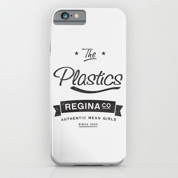The Plastics - from the movie Mean Girls starring Lindsay Lohan iPhone & iPod Case by AllieR
