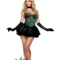 Adult Ravishing Peacock Costume - Party City