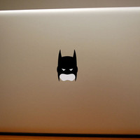 Batman Mask Macbook Decal