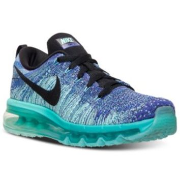 Nike Women's Flyknit Air Max Running Sneakers from Finish Line   macys.com