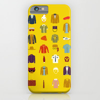 Wes Anderson´s Luggage iPhone & iPod Case by Alejandro Giraldo