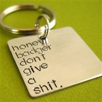 Honey Badger Key Chain - Spiffing Jewelry
