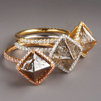 Diamond In The Rough - Diamond Rings - Bergdorf Goodman