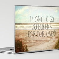 I want to go somewhere far far away Laptop & iPad Skin by Sylvia Cook Photography | Society6