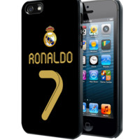 Real Madrid Ronaldo CR7 Jersey Samsung Galaxy S3 S4 S5 Note 3 , iPhone 4 5 5c 6 Plus , iPod 4 5 case, HtC One M7 M8