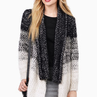Latitude Striped Cardigan $64