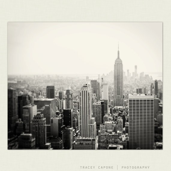 New York City Decor Of New York City Print Skyline Decor From Traceycapone On Etsy