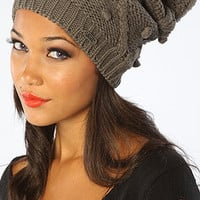 The Bop Beanie in Dark Gray