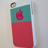iPhone Case fits 4 4S Minty Pink Cool and Unique iPhone Cases by Sassy Cases
